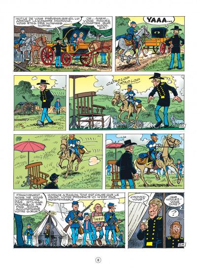 Page 8 les tuniques bleues tome 43 - des bleus et du blues