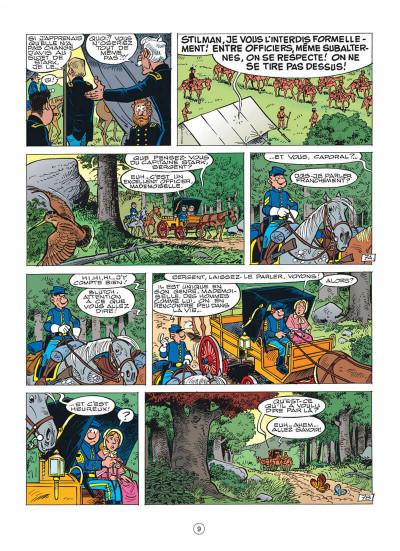 Page 9 les tuniques bleues tome 43 - des bleus et du blues