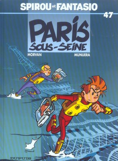 image de spirou et fantasio tome 47 - paris-sous-seine