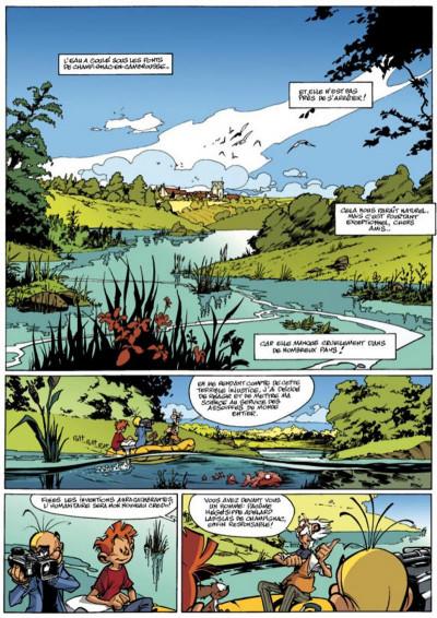 Page 1 spirou et fantasio tome 47 - paris-sous-seine