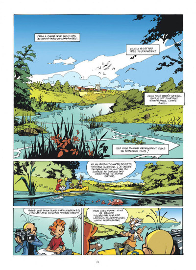 Page 3 spirou et fantasio tome 47 - paris-sous-seine