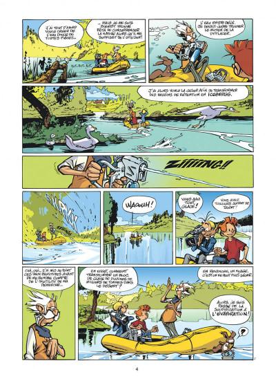 Page 4 spirou et fantasio tome 47 - paris-sous-seine