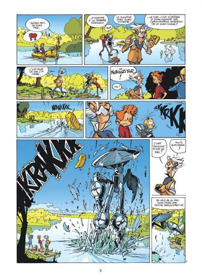 Page 5 spirou et fantasio tome 47 - paris-sous-seine