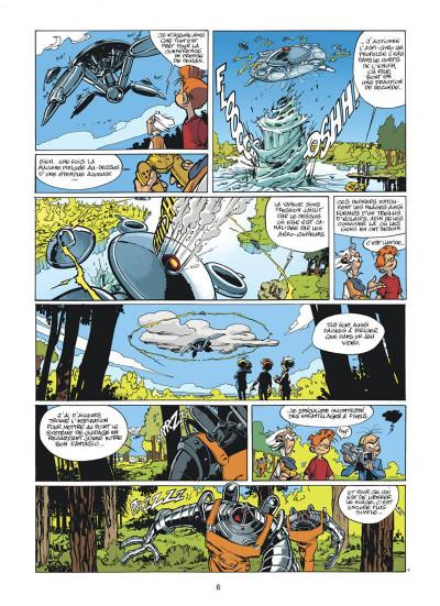 Page 6 spirou et fantasio tome 47 - paris-sous-seine