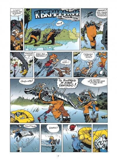 Page 7 spirou et fantasio tome 47 - paris-sous-seine