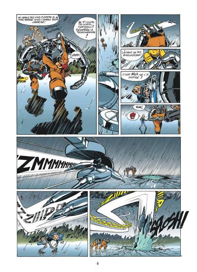 Page 8 spirou et fantasio tome 47 - paris-sous-seine
