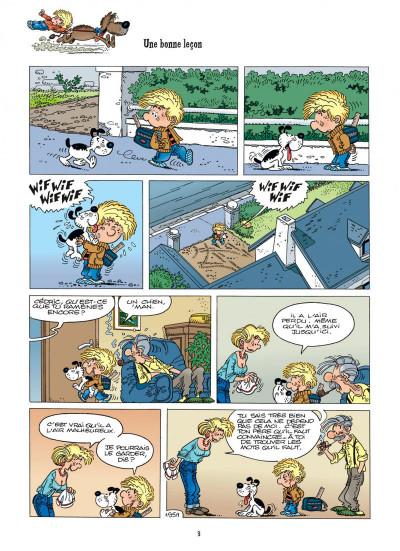 Page 3 cédric tome 14 - au pied, j'ai dit !