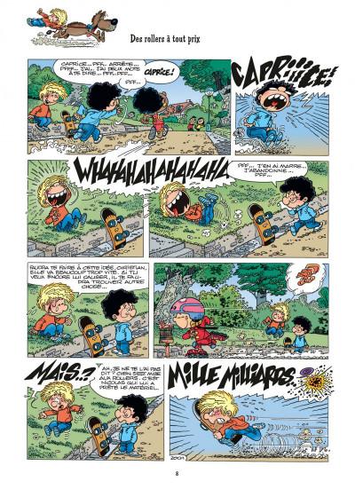 Page 8 cédric tome 14 - au pied, j'ai dit !