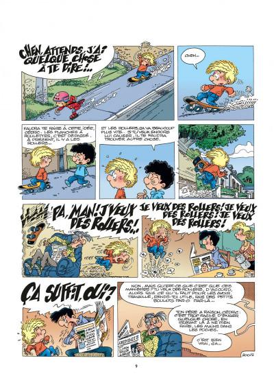 Page 9 cédric tome 14 - au pied, j'ai dit !