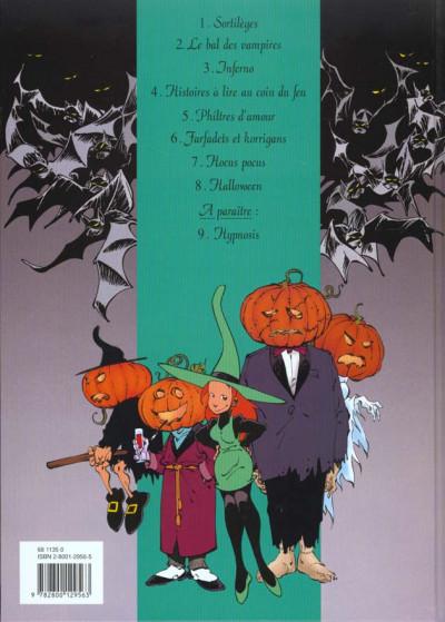 Dos mélusine tome 8 - halloween