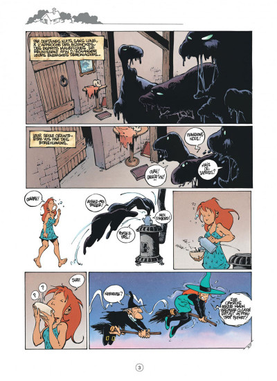 Page 3 mélusine tome 8 - halloween