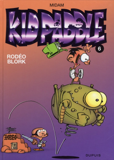 Couverture Kid Paddle tome 6