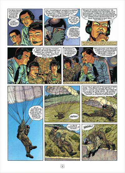 Page 8 buck danny tome 49 - la nuit du serpent