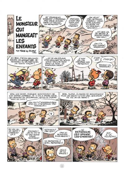 Page 3 le petit spirou tome 9 - c'est pas de ton âge
