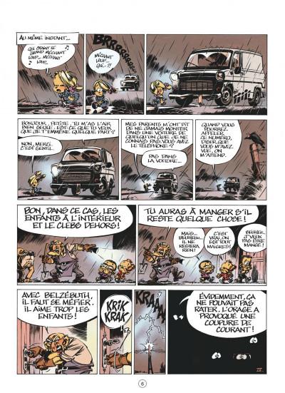 Page 6 le petit spirou tome 9 - c'est pas de ton âge
