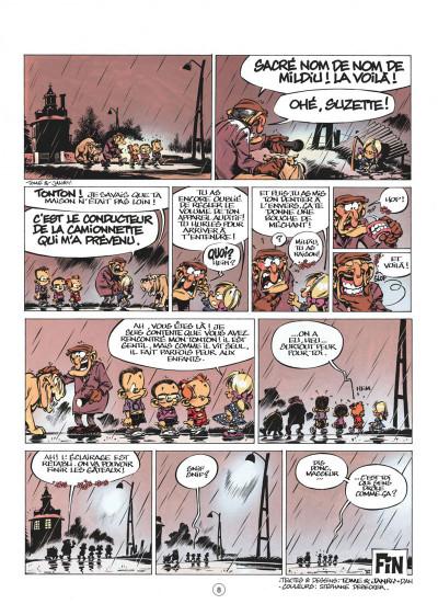 Page 8 le petit spirou tome 9 - c'est pas de ton âge