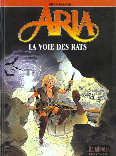 Couverture aria tome 22 - la voie des rats