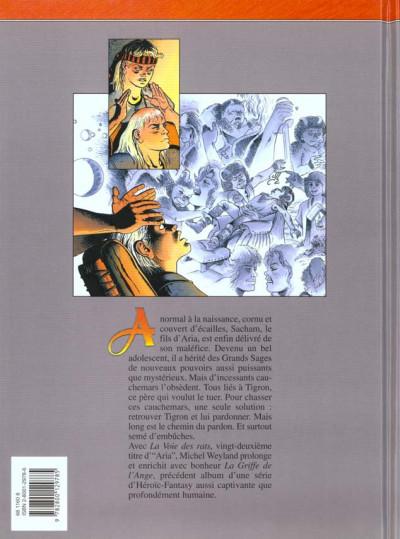 Dos aria tome 22 - la voie des rats