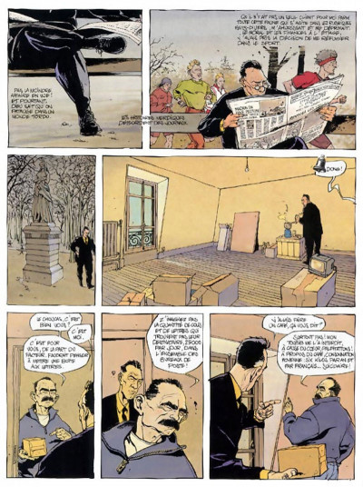 Page 4 le choucas tome 2 - le choucas s'incruste