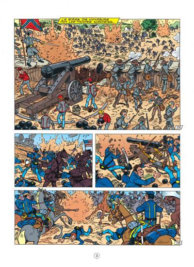 Page 3 les tuniques bleues tome 44 - l'oreille de lincoln
