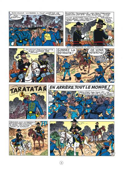 Page 4 les tuniques bleues tome 44 - l'oreille de lincoln