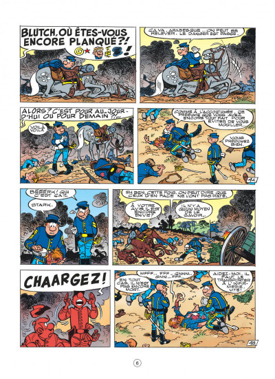 Page 6 les tuniques bleues tome 44 - l'oreille de lincoln