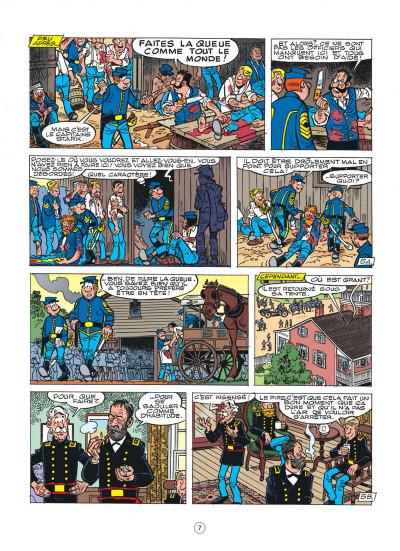 Page 7 les tuniques bleues tome 44 - l'oreille de lincoln