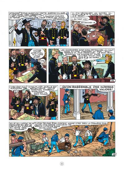 Page 9 les tuniques bleues tome 44 - l'oreille de lincoln