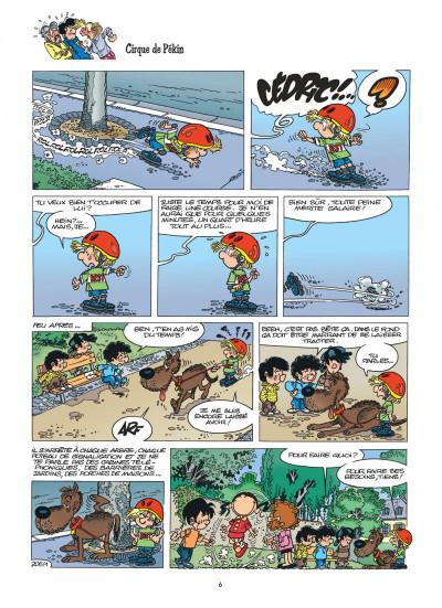 Page 6 cédric tome 15 - avis de tempête