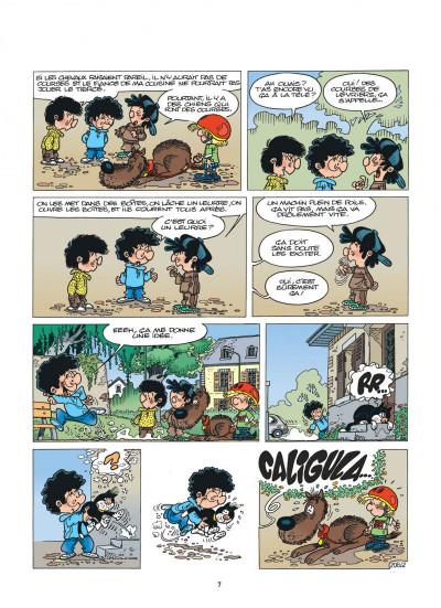 Page 7 cédric tome 15 - avis de tempête