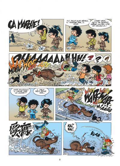 Page 8 cédric tome 15 - avis de tempête