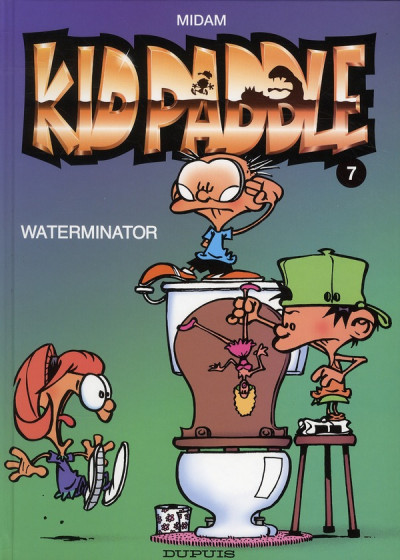 Couverture Kid Paddle tome 7