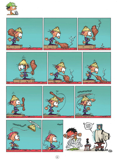 Page 6 Kid Paddle tome 7