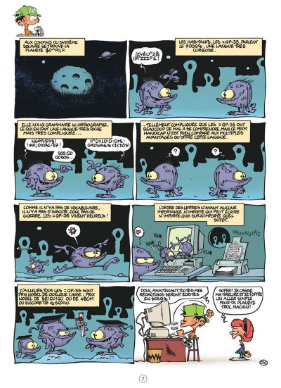 Page 7 Kid Paddle tome 7