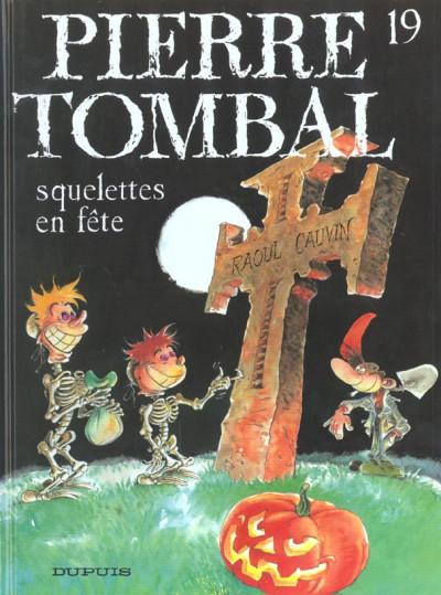 image de pierre tombal tome 19 - squelettes en fête