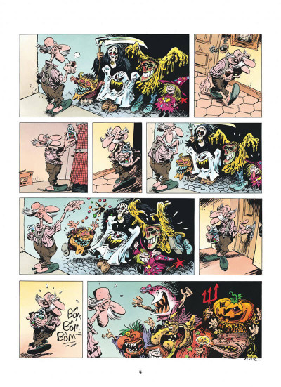 Page 4 pierre tombal tome 19 - squelettes en fête
