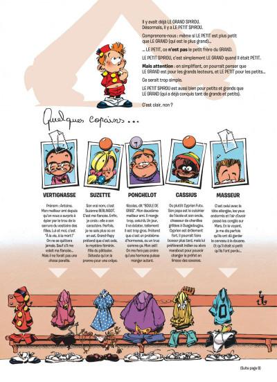 Page 2 le petit spirou tome 10 - tu comprendras quand tu s'ras grand