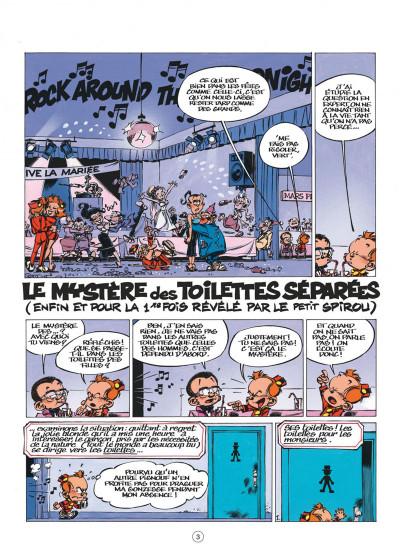 Page 3 le petit spirou tome 10 - tu comprendras quand tu s'ras grand
