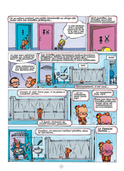 Page 4 le petit spirou tome 10 - tu comprendras quand tu s'ras grand