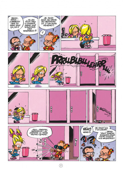 Page 7 le petit spirou tome 10 - tu comprendras quand tu s'ras grand