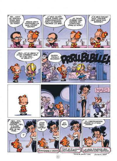 Page 8 le petit spirou tome 10 - tu comprendras quand tu s'ras grand