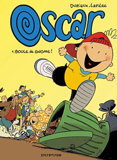 Couverture Oscar tome 1 - boule de gnome