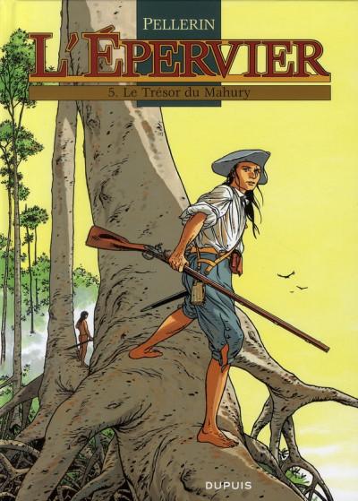 Couverture l'épervier tome 5 - le trésor du mahury