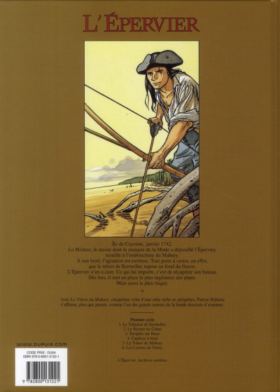 Dos l'épervier tome 5 - le trésor du mahury