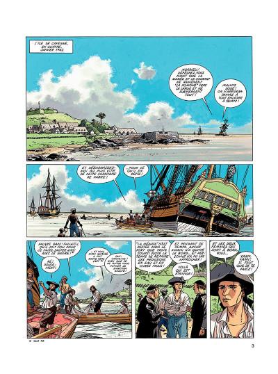 Page 2 l'épervier tome 5 - le trésor du mahury