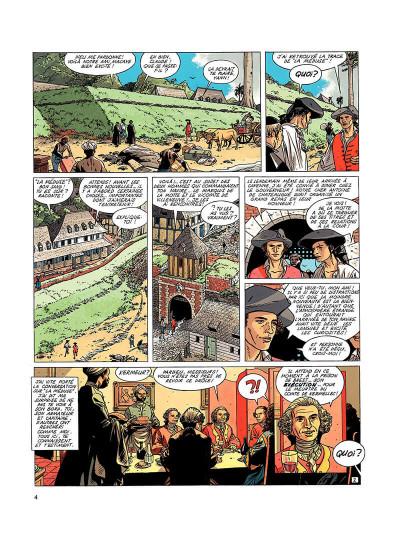 Page 3 l'épervier tome 5 - le trésor du mahury
