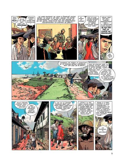 Page 4 l'épervier tome 5 - le trésor du mahury
