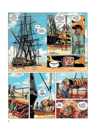 Page 5 l'épervier tome 5 - le trésor du mahury