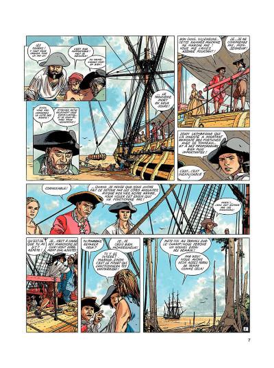 Page 6 l'épervier tome 5 - le trésor du mahury