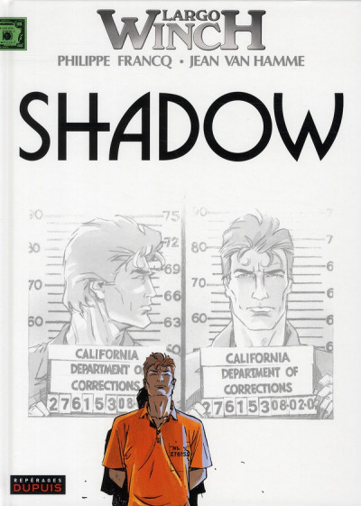 Couverture largo winch tome 12 - shadow